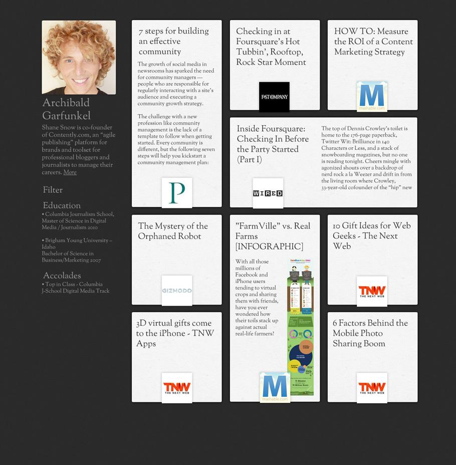 David Phillips - Portfolio and Blog